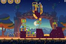 Angry Birds Seasons Abra-Ca-Bacon Level 1-9 Walkthrough