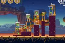 Angry Birds Seasons Abra-Ca-Bacon Level 2-1 Walkthrough
