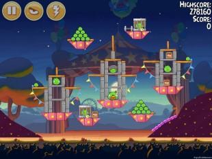 Angry Birds Seasons Abra-Ca-Bacon Level 2-13 Walkthrough