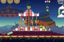 Angry Birds Seasons Abra-Ca-Bacon Level 2-14 Walkthrough