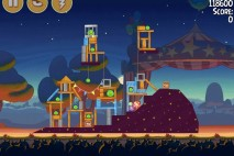 Angry Birds Seasons Abra-Ca-Bacon Level 2-4 Walkthrough