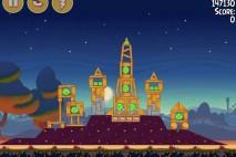 Angry Birds Seasons Abra-Ca-Bacon Level 2-5 Walkthrough