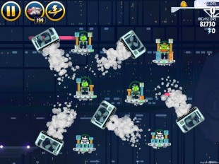 Angry Birds Star Wars Cloud City Level 4-35 Walkthrough