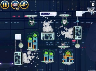 Angry Birds Star Wars Cloud City Level 4-37 Walkthrough