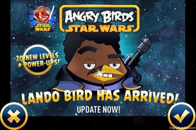 Angry Birds Star Wars Welcome Lando