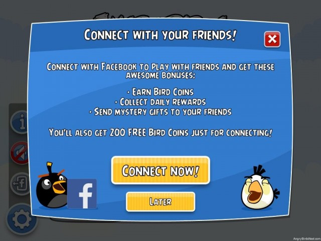 Angry Birds Friends Updated to Allow Play Without Facebook
