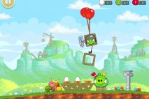Angry Birds Red's Mighty Feathers Level F-1 Walkthrough