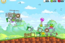 Angry Birds Red's Mighty Feathers Level F-15 Walkthrough
