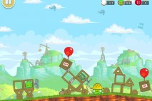 Angry Birds Red's Mighty Feathers Level F-2 Walkthrough