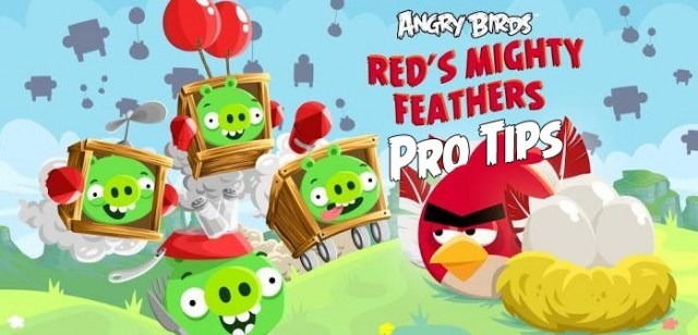 Angry Birds Reds Mighty Feathers Pro Tips and Tricks Post Image