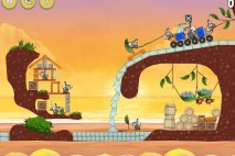 Angry Birds Rio Golden Beachball Star Bonus Walkthrough Level 22
