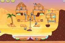 Angry Birds Rio Golden Beachball Star Bonus Walkthrough Level 23
