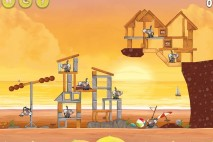 Angry Birds Rio Golden Beachball Star Bonus Walkthrough Level 24