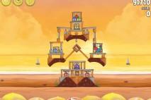 Angry Birds Rio Golden Beachball Walkthrough Level #25
