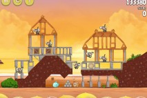 Angry Birds Rio Golden Beachball Walkthrough Level #27