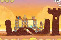 Angry Birds Rio Golden Beachball Walkthrough Level #28