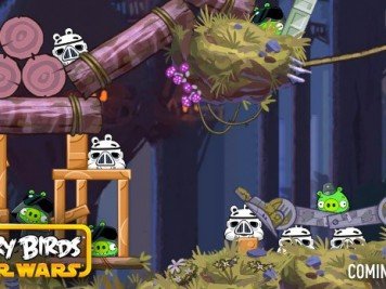 Angry Birds Star Wars Return of the Jedi Moon of Endor Leaked Image