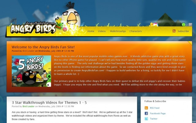 AngryBirdsNest July 2010