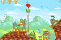 Angry Birds Red's Mighty Feathers Level 24-10 Walkthrough