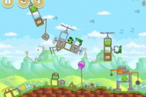 Angry Birds Red's Mighty Feathers Level 24-15 Walkthrough