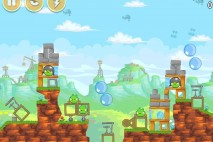 Angry Birds Free 3 Star Walkthrough Level 24-2