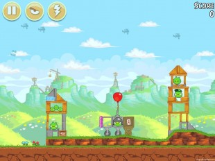Angry Birds Free 3 Star Walkthrough Level 24-4