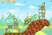 Angry Birds Free 3 Star Walkthrough Level 24-5