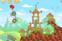 Angry Birds Red's Mighty Feathers Level 24-6 Walkthrough