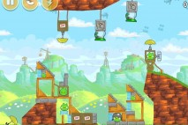 Angry Birds Red's Mighty Feathers Level 24-7 Walkthrough