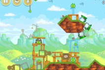 Angry Birds Red's Mighty Feathers Level 24-8 Walkthrough