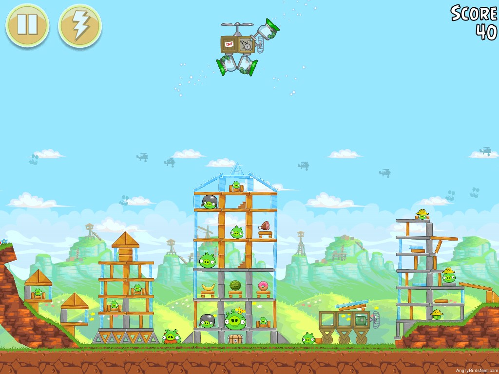 Angry Birds Golden Egg 30 Walkthrough Angrybirdsnest