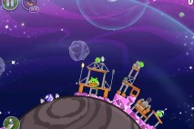 Angry Birds Space Cosmic Crystals Level 7-14 Walkthrough