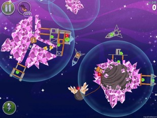 Space Eagle Walkthrough Cosmic Crystals Level 7-20