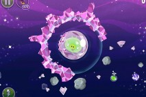 Angry Birds Space Cosmic Crystals Level 7-3 Walkthrough