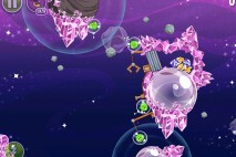 Angry Birds Space Cosmic Crystals Level 7-4 Walkthrough