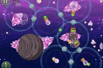 Angry Birds Space Cosmic Crystals Level 7-8 Walkthrough