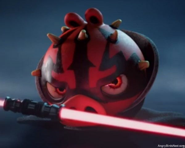 Angry Birds Star Wars 2 Characters Darth Maul Battle Droid and