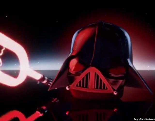 Angry Birds Star Wars 2 Characters Darth Vader and Anakin