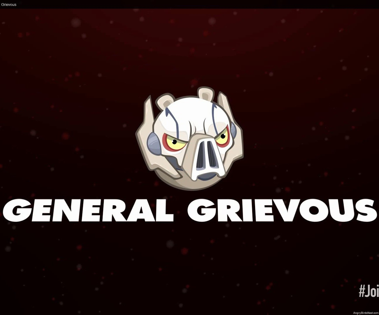 angry birds star wars 2 characters general grievous angrybirdsnest. Black Bedroom Furniture Sets. Home Design Ideas