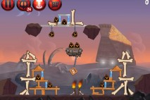 Angry Birds Star Wars 2 Escape to Tatooine Level P2-12 Walkthrough