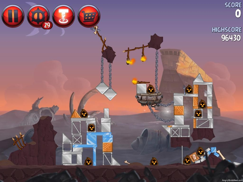 Angry Birds Star Wars 2 Escape to Tatooine Level P2-16