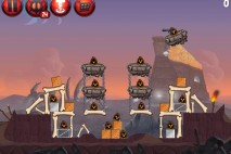 Angry Birds Star Wars 2 Escape to Tatooine Level P2-17 Walkthrough