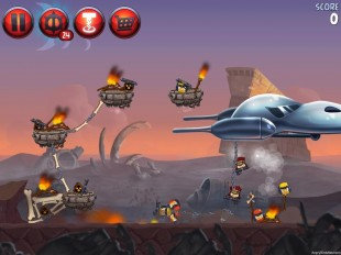 Angry Birds Star Wars 2 Escape to Tatooine Level P2-20 Walkthrough