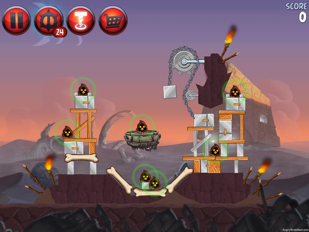 Angry birds star wars 2 escape to tatooine level p2 8 - Angry birds star wars 8 ...