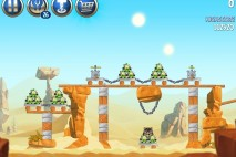Angry Birds Star Wars 2 Escape to Tatooine Level B2-10 Walkthrough