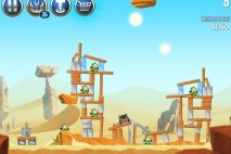 Angry Birds Star Wars 2 Escape to Tatooine Level B2-11 Walkthrough