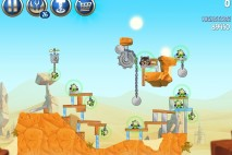 Angry Birds Star Wars 2 Escape to Tatooine Level B2-12 Walkthrough