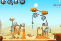 Angry Birds Star Wars 2 Escape to Tatooine B2-17 Treasure Map Walkthrough