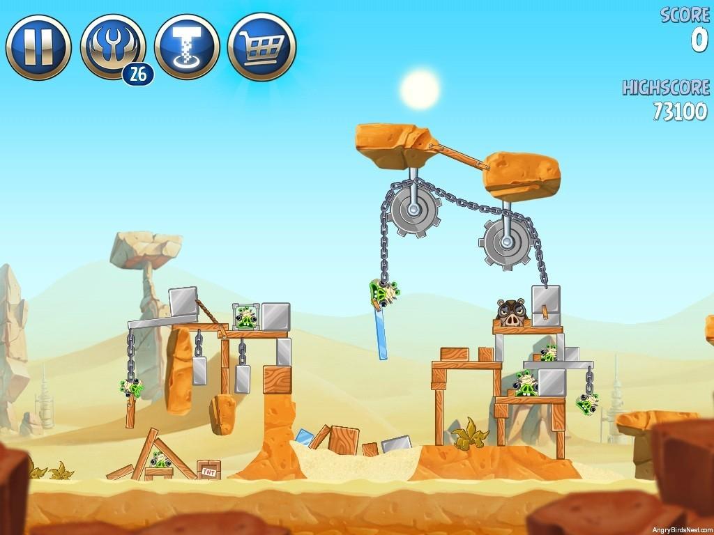 Walkthrough Escape To Tatooine B2-10 Treasure Map - Angry ...