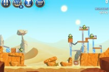 Angry Birds Star Wars 2 Escape to Tatooine Level B2-3 Walkthrough